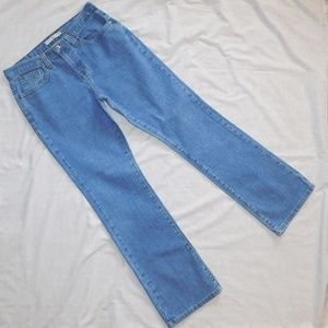 High Rise Stretch Hipster Boot Cut Jeans 12